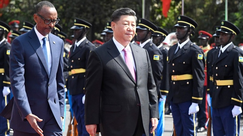 "Chinese President Xi Jinping was in Senegal, Rwanda, South Africa and Mauritius, to push the ""Belt and Road Initiative""."