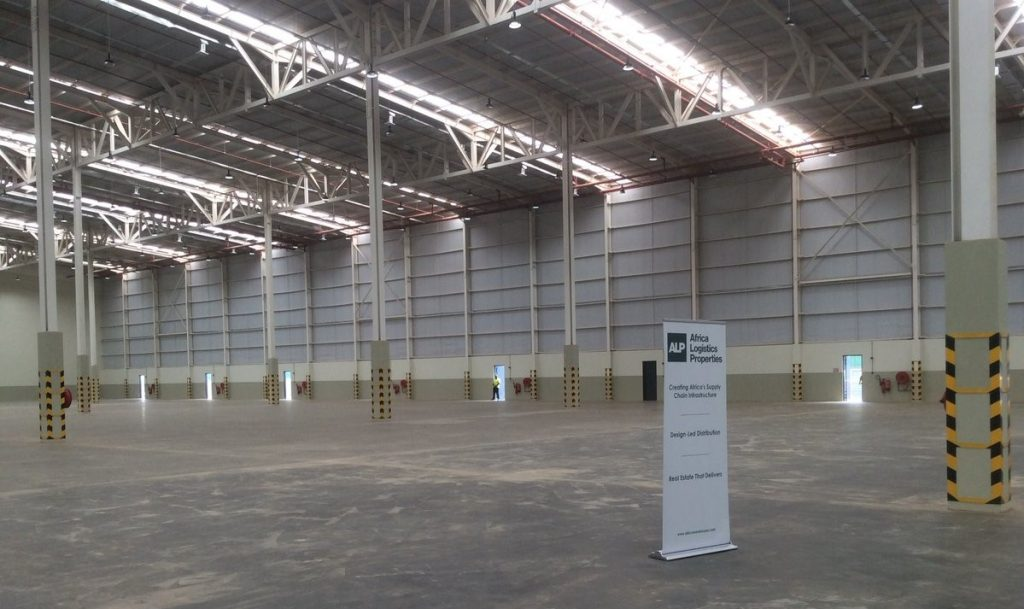Africa Logistics Properties Warehousing Facility is 75pc Pre-leased