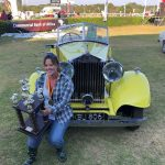 Veronica's 1934 Rolls Royce Boatail Triumphs Concours d'Elegance