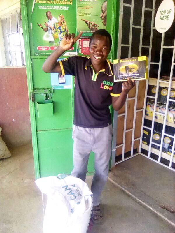 Bonfese Wanjala named Wefarm's Champion Farmer