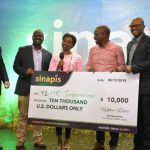 YZ-ME- Sanitary products' dispenser wins Ksh 1mn Sinapis Business Plan Competition