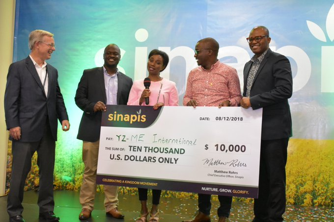 Sinapis Group 2018 Winner