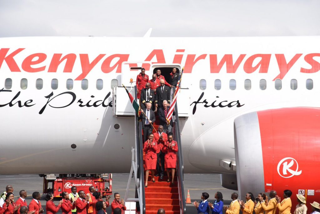 Kenya Airways Resume Non-stop Flights to New York from Nairobi