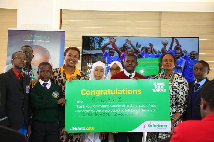 Safaricom Foundation Ndoto Zetu Initative
