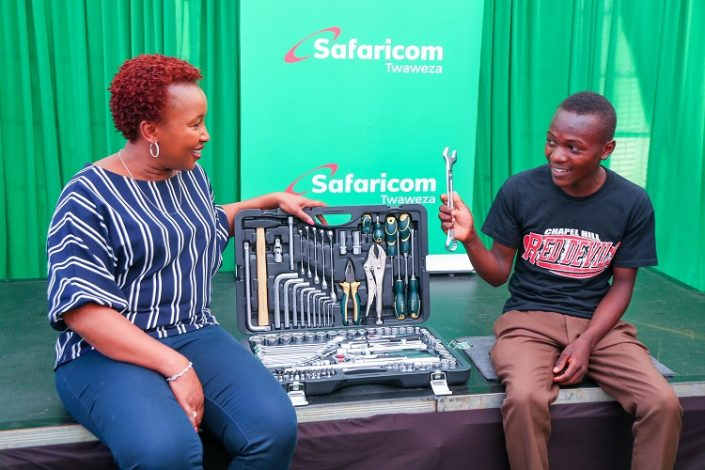 19 Year Old from Kirinyaga is Safaricom's 30th Million Customer