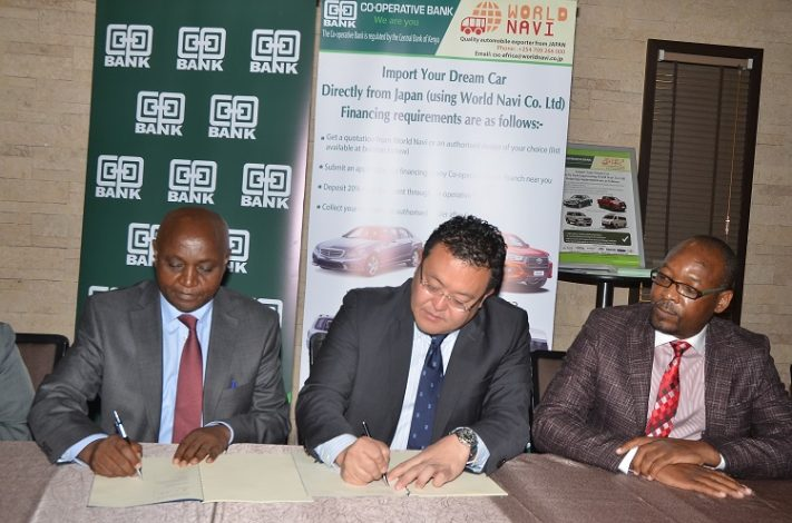 Co-op Bank and World Navi Announce Joint Partnership for Direct Importation of Used Vehicles
