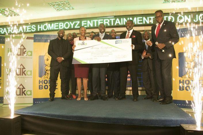 Homeboyz Entertainment Limited admitted onto the NSE Ibuka Program.