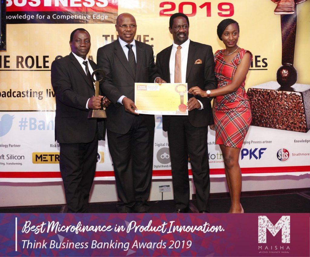 Maisha Microfinance Bank Awarded for Product Innovation in Kenya
