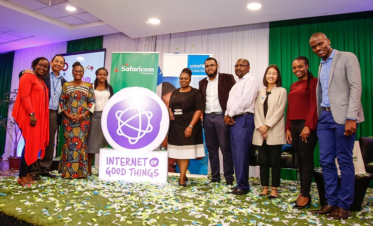 UNICEF and Safaricom launch Internet of Good Things in Kenya