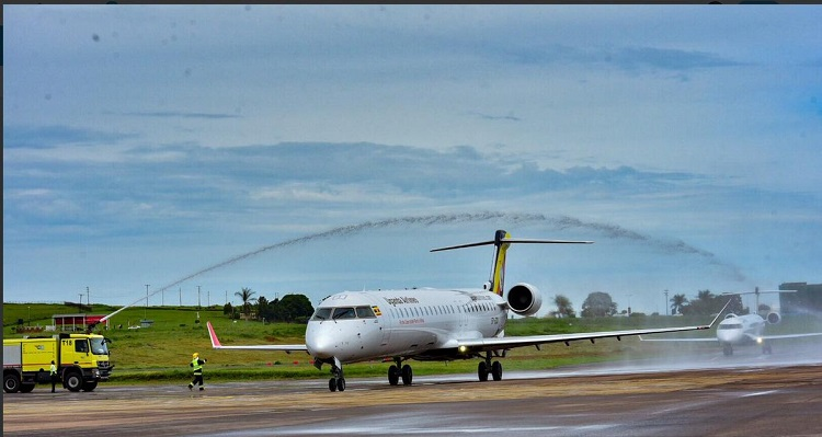 Uganda Airlines Eyes Corporate Clients Dar es Salaam on Maiden Flight