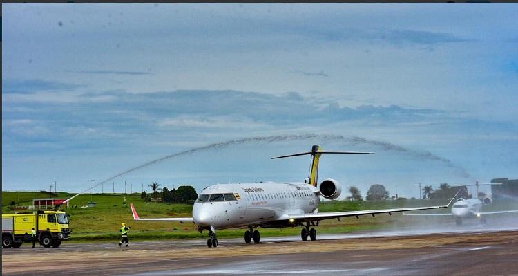 Uganda Airlines Eyes Corporate Clients Dar es Salaam on Maiden Flight
