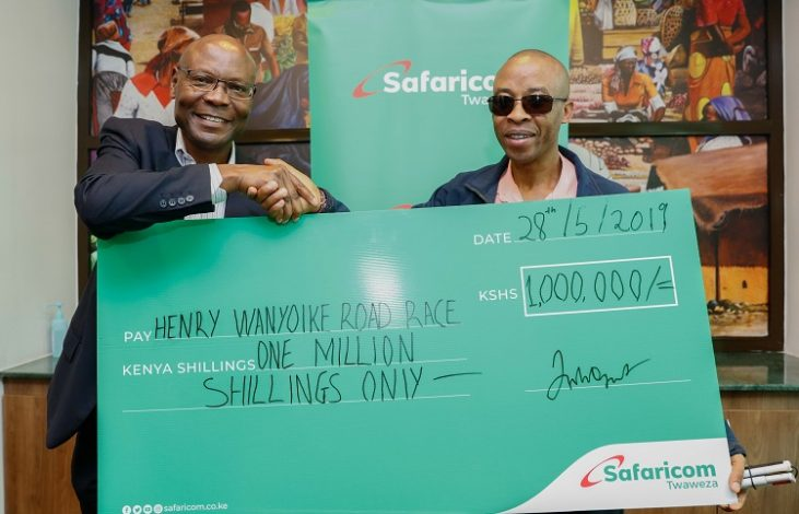 13th Edition Of Henry Wanyoike Hope For The Future Run