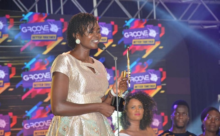Eunice Njeri, Crowned Gospel Artist of the Year in 14th Annual Groove Awards