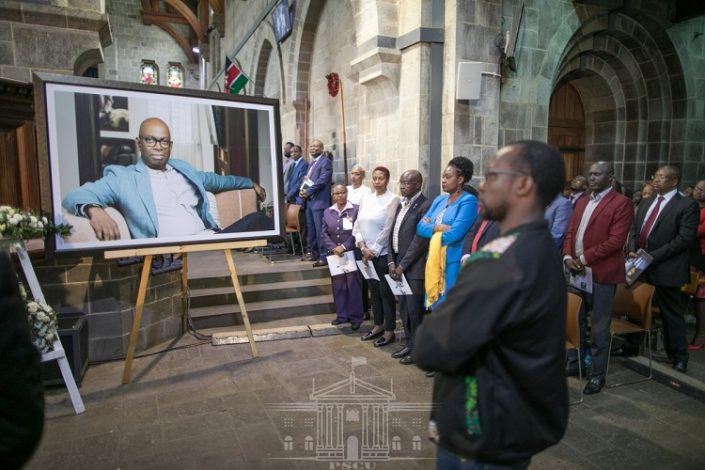 Bob Collymore  Memorial Service: Eulogised as Family Man, Corporate Captain Who Inspired Society