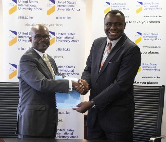 USIU-Africa signs MOU with the Cyber Security Institute