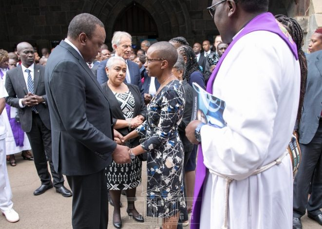 "President Kenyatta said Kenya has lost part of its ""soul"" through the death of the late Collymore."