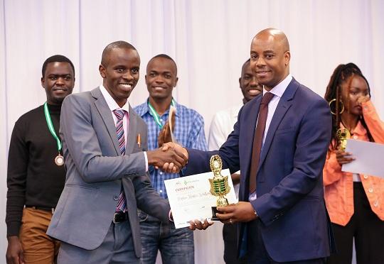 Stephen Muchiri winner of the my little thing challenge