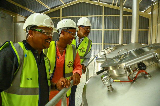 East African Breweries Limited (EABL) reported a 47 per cent drop in net profit in the first six months of the year