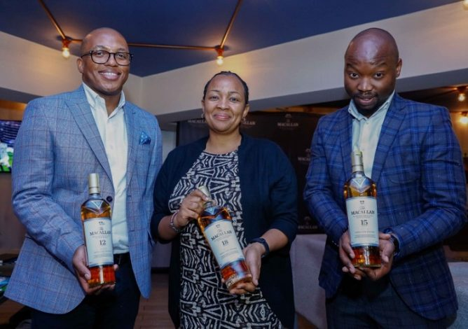 Edrington Launches Macallan Scotch Whisky in Kenya, Counts on Surging Consumption t