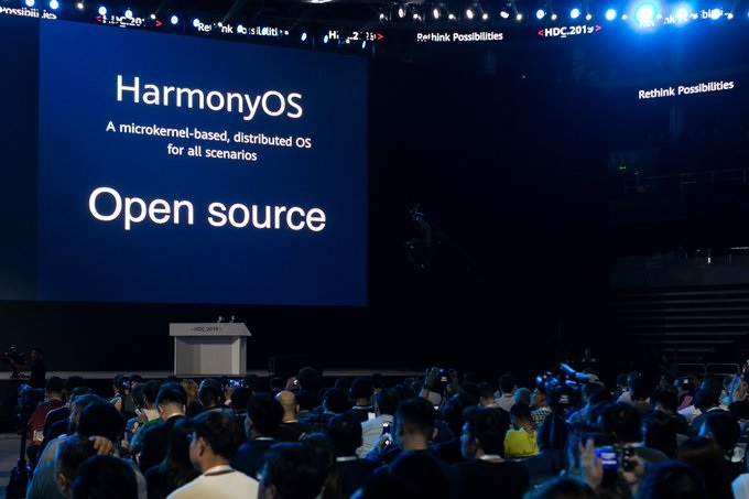 China's Huawei Technologies announced the launch of its proprietary Harmony operating system (HarmonyOS) for smartphones
