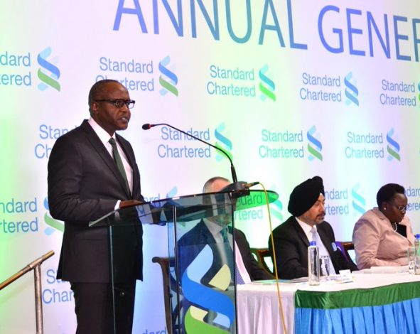 StanChart 3Q19 Revenue Drops Marginally to KSh6.2bn on Reduced Income