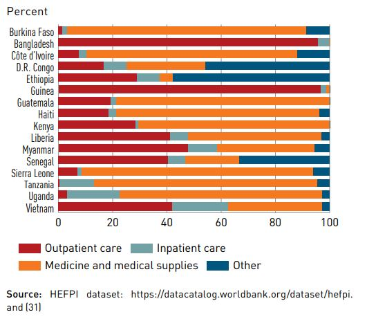 Drivers of out-of-pocket expenditures in selected African Countries