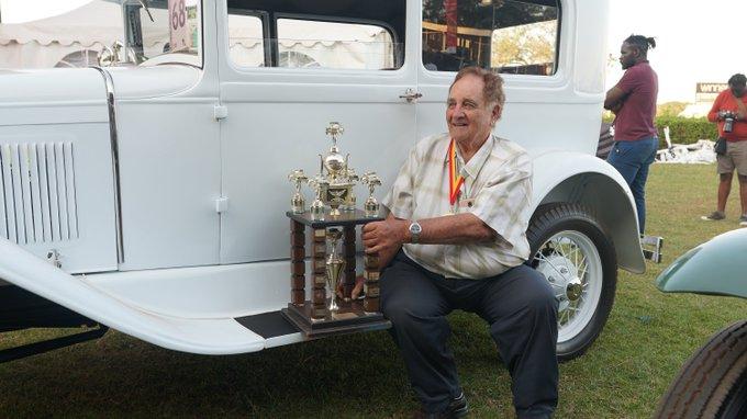 John Wroe' 1930 Ford Model A Wins 2019 CBA Concours d'Elegance