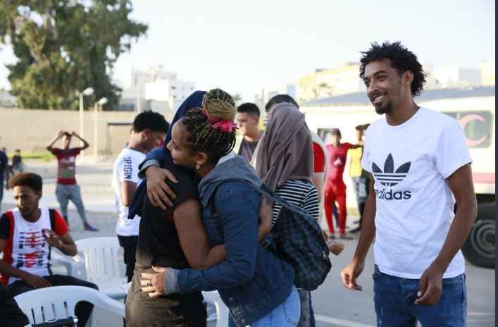 First Group of 66 African Refugees From Libya Arrive in Rwanda