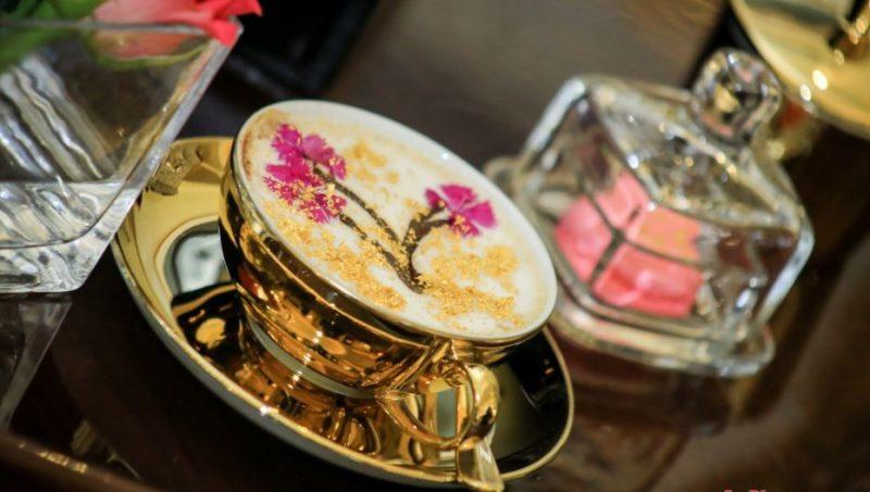 Villa Rosa Kempinski introduces 24-carat edible gold Cappuccino