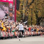 Eliud Kipchoge insists that he will use his Nike shoes at the London Marathon on Sunday