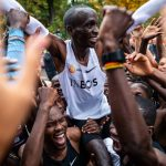 Eliud Kipchoge:  First Athlete to Run a Marathon Under Two Hours, 1:59:40