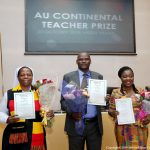 AU Awards 1st Continental Prizes to 3 Teachers from Kenya, Ghana and Uganda