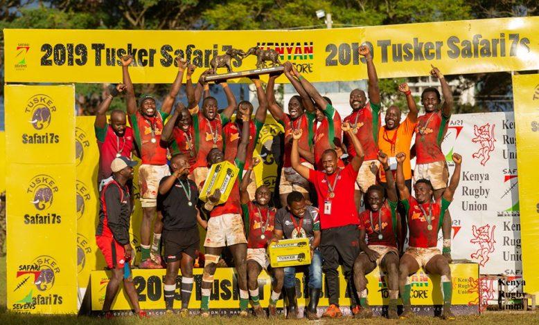 Kenya Morans Crowned 2019 Tusker Safari Sevens Champions