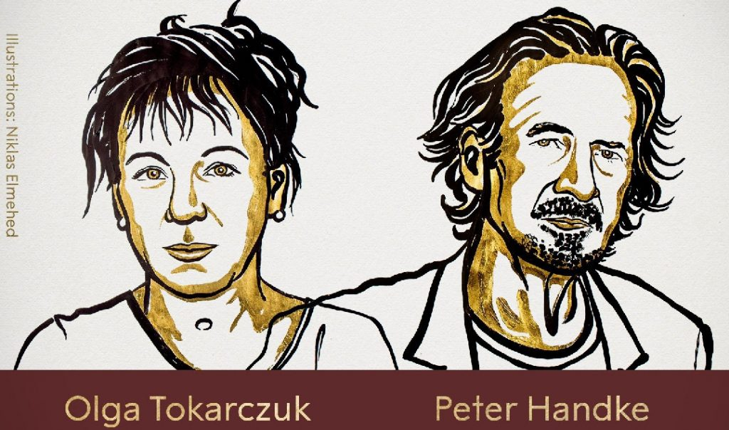 Olga Tokarczuk, Peter Handke Named Nobel Prize Winners for Literature in 2018 and 2019
