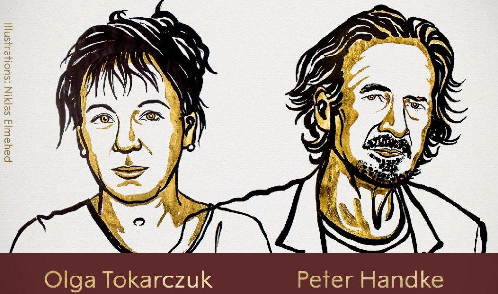 Olga Tokarczuk, Peter Handke Named Nobel Prize Winners for Literature in 2018 and 2019