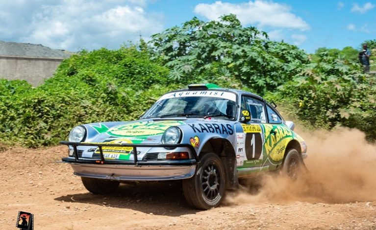 Chager Takes Lead in Safaricom East African Safari Classic Rally