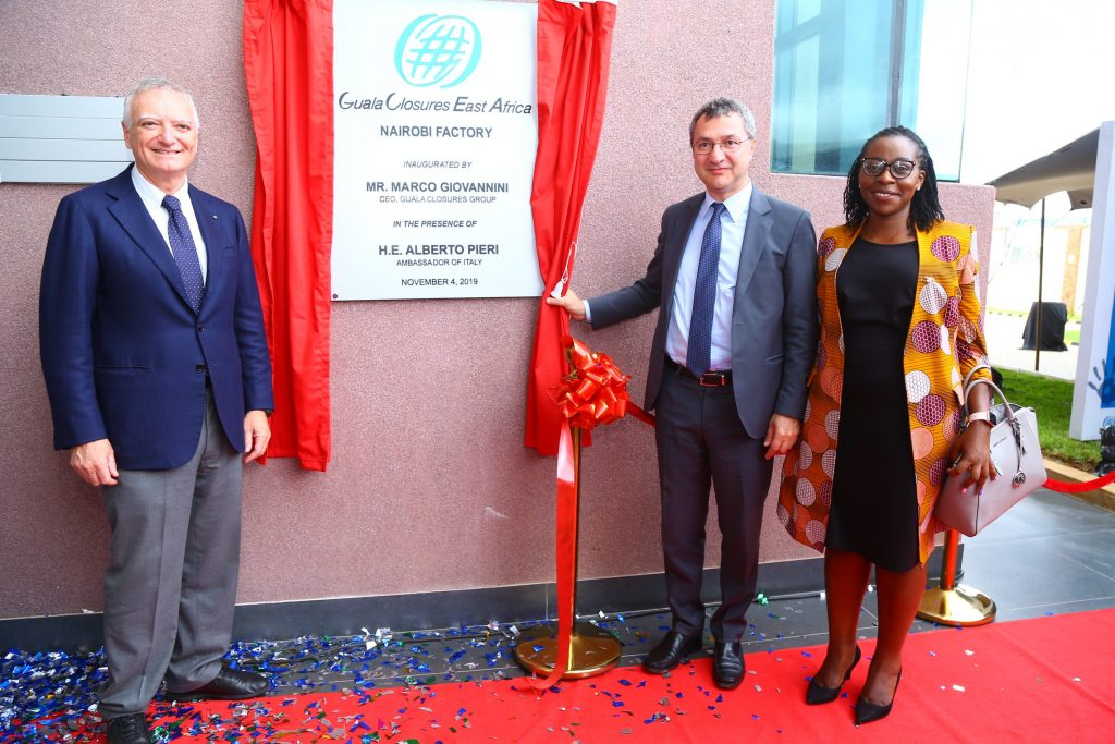 Guala Closures Group Opens Ksh570 million Bottle Caps Plant in Kenya