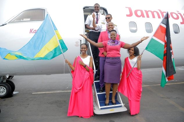 JamboJet Launches Rwanda Flights With its Low-Cost  Travel Model