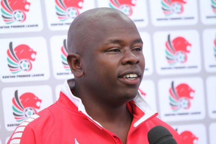 Kariobangi Sharks' coach William Muluya'