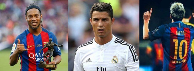 Messi, Ronaldo, Says Duo Will Never Match Ronaldinho