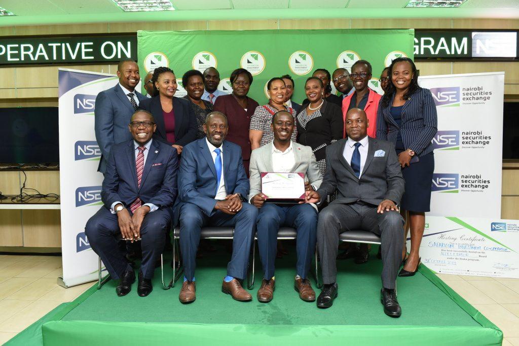 Safaricom Investment Co-operative Admitted to NSE Ibuka Incubator Programme