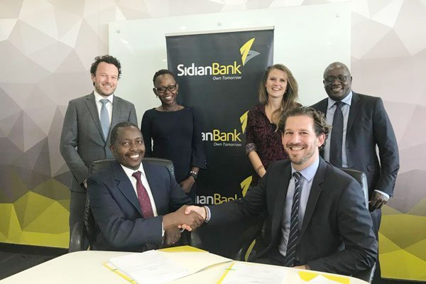 Sidian Bank Receives Ksh 2 Billion, 5-Year Loan for SME Investment