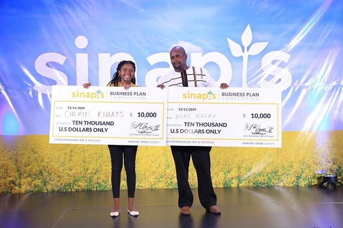 2 Kenyan Entrepreneurs Win Ksh 2 million from Sinapis Business Plan Competition