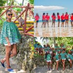 Suzanna Owiyo's Coastal Kenya Vacation Photos Best of Her Life