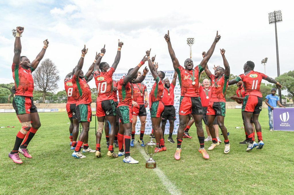 Kenya 7s Wins Africa Men's Sevens Qualifying for Tokyo 2020 Olympics