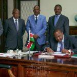 President Kenyatta Signs Law Removing Lending Caps for Kenyan Banks
