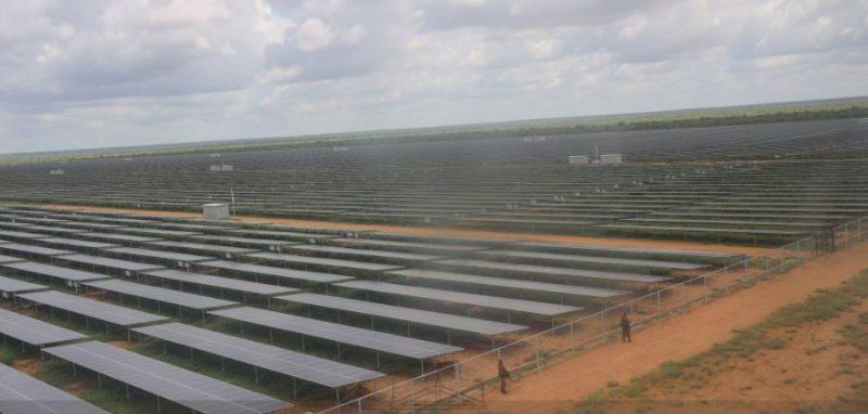 50MW Garissa Solar Power plant