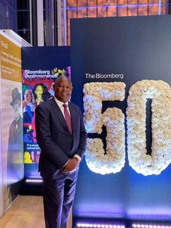 Equity Group Chief Executive James Mwangi Honoured in the 2019 Bloomberg 50