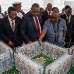 President Uhuru Unveils Habitat Heights an 8,888 Affordable Housing Scheme