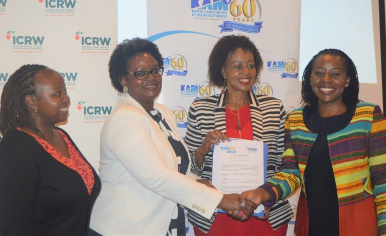 KAM, ICRW Announces First Women in Manufacturing Study in Kenya